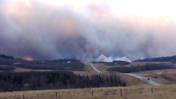 В Канаде учатся прогнозировать лесные пожары