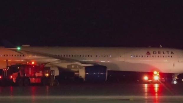 Вынужденная посадка лайнера Delta в Канаде