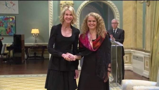 Посланница США вручила верительные грамоты генерал-губернатору Канады