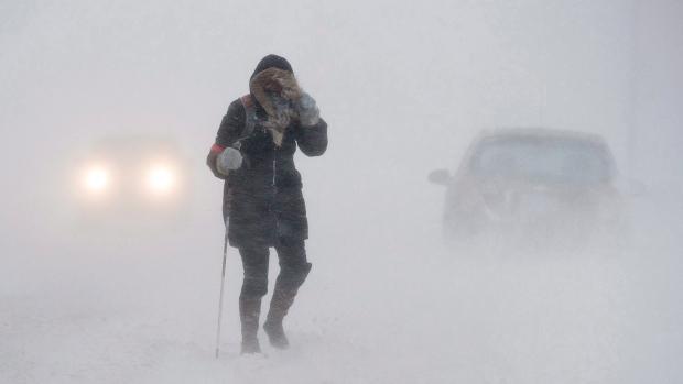 Погода зимой: на западе холодно, в центре Канады— много снега