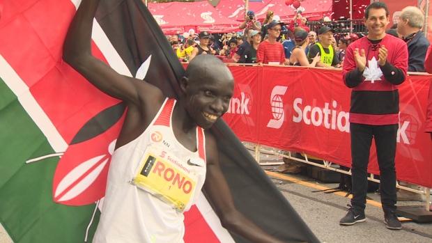 Рекорды марафона в Торонто