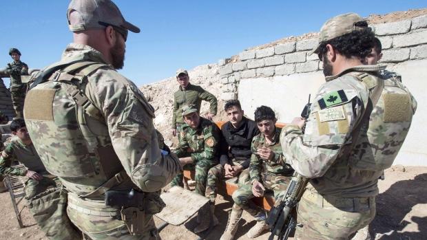 Канадский спецназ приостановил свою миссию в Ираке