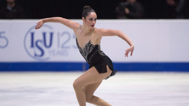 Skate Canada выиграла хозяйка Катлин Осмонд
