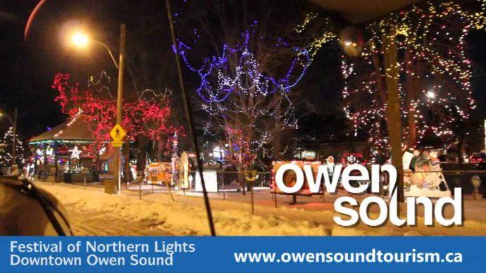 Еще один фестиваль праздничных огней – к северу от Торонто