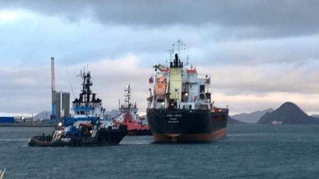 У берегов Канады спасен корабль с российско-украинской командой