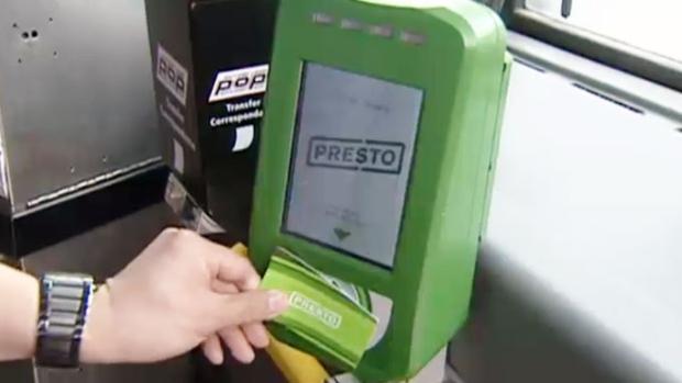 Приложение для Presto Card опаздывает