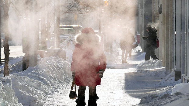 Канадский мороз ударил по праздникам