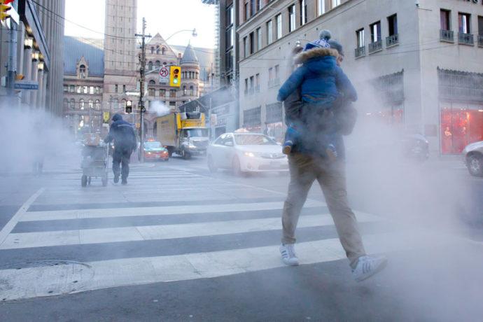 В Торонто вновь объявлена «морозная тревога»