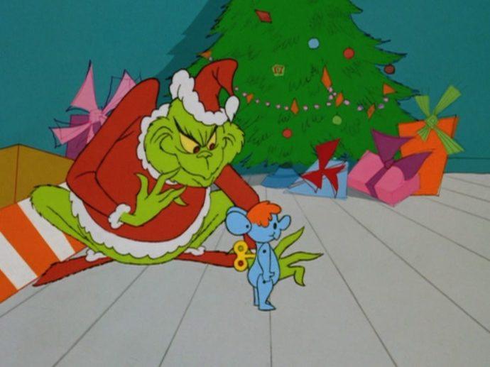 Злюка Гринч крадет рождественские посылки