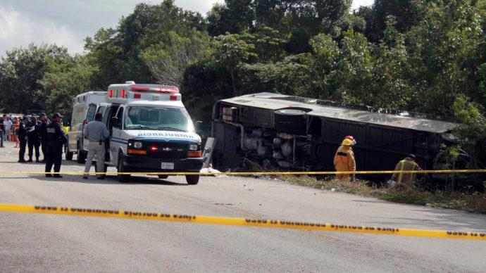 Канадец погиб в аварии автобуса в Мексике