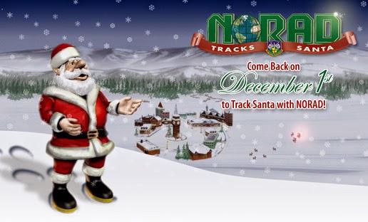 Смотрите, куда направляется Санта-Клаус!