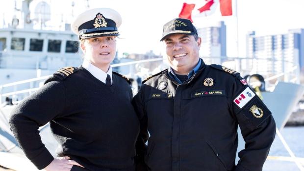 Два капитана по-канадски – муж и жена