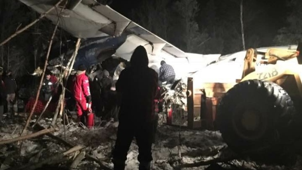 В провинции Саскачеван разбился самолет. Никто не погиб