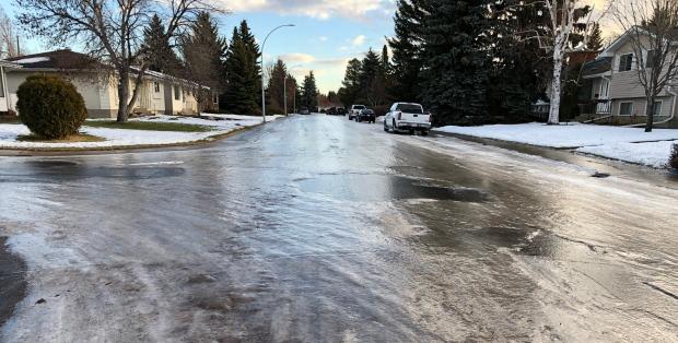 Ледовый травматизм в Альберте выше, чем в Онтарио