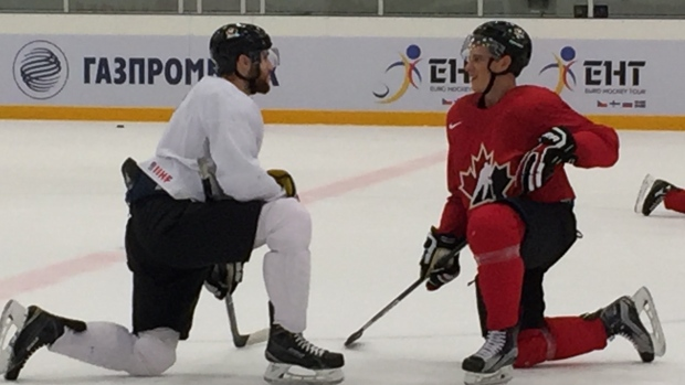 Основа канадской сборной— российская лига