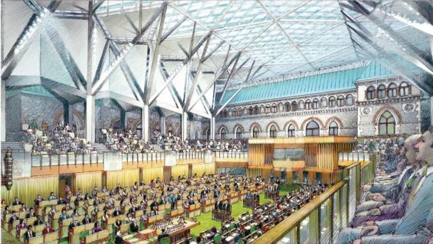 Новая палата Общин канадского парламента: подслушать не удастся!