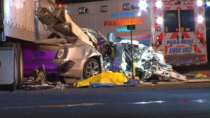 Катастрофа в Миссиссаге могла произойти из-за конфликта между водителями
