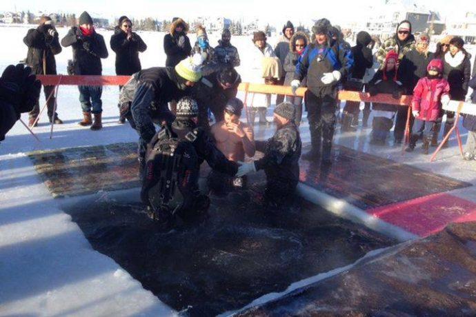 «Моржи» в Эдмонтоне собрали $70 000 в помощь паралимпийцам