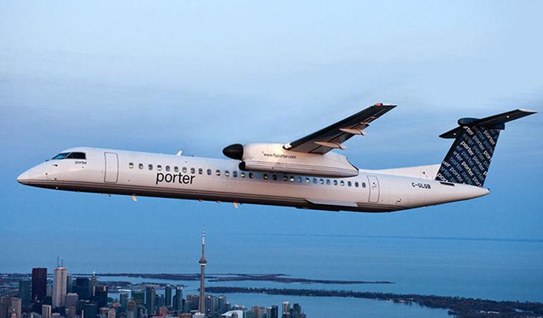 Porter Airlines: незапланированная посадка из-за искрящией проводки