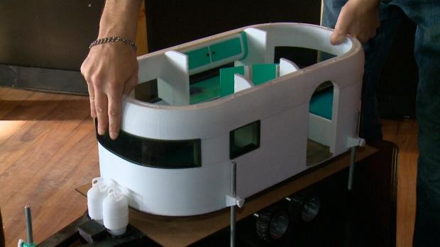 Канадец отпечатал прицеп на колесах на 3D-принтере