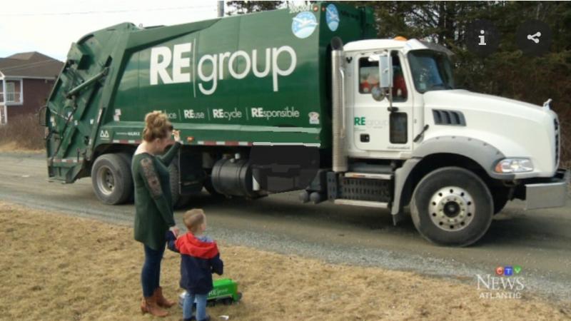 Канадская история. Мальчик и грузовик