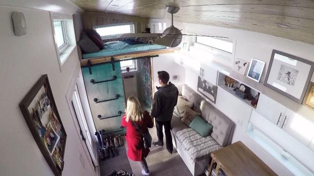Домик в Эдмонтоне— «меньше маленького»