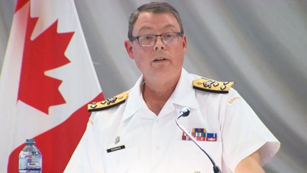 Вице-адмирал ВМФ Канады обвиняется в разглашении секретов