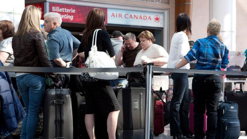 Air Canada: проблемы с компьютерами и длинные очереди