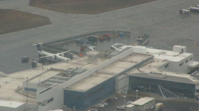 В аэропорту имени Билли Бишопа погиб строитель