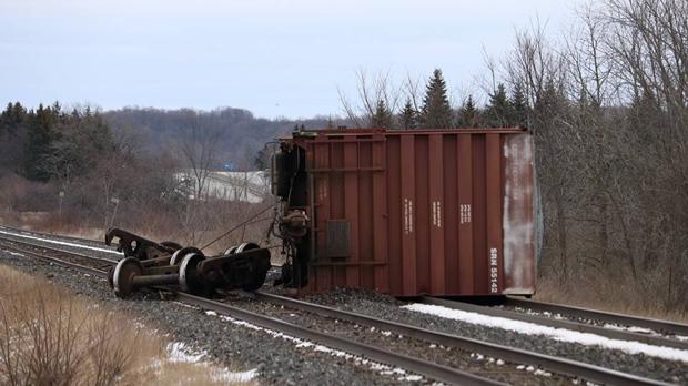 Железнодорожная авария: все рейсы из Торонто в Оттаву и Монреаль отменены