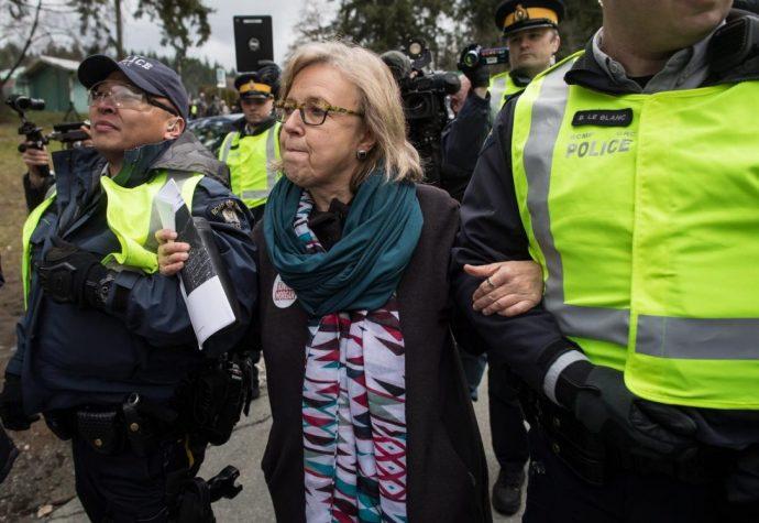 Два депутата арестованы во время протеста против нефтепровода