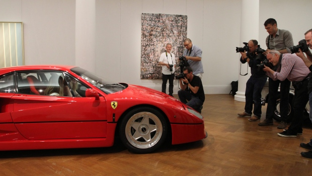 Разбитая Ferrari обошлась Британской Колумбии в $800 000