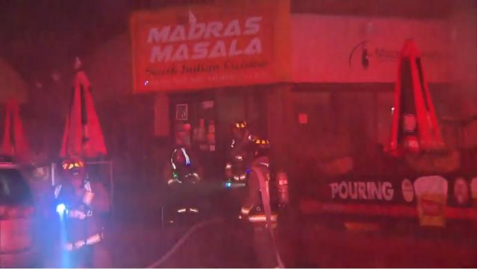 Пожарный получил ожоги на работе