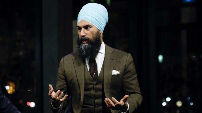 Лидер NDP ответил на обвинения в поддержке сепаратизма