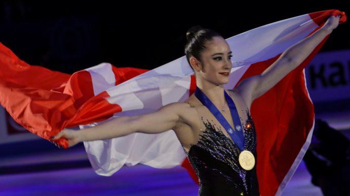 Катлин Осмонд: первая за 45 лет канадская чемпионка мира!
