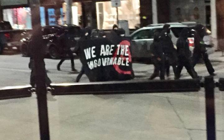 Марш вандалов по Гамильтону принес убытков на $100 000