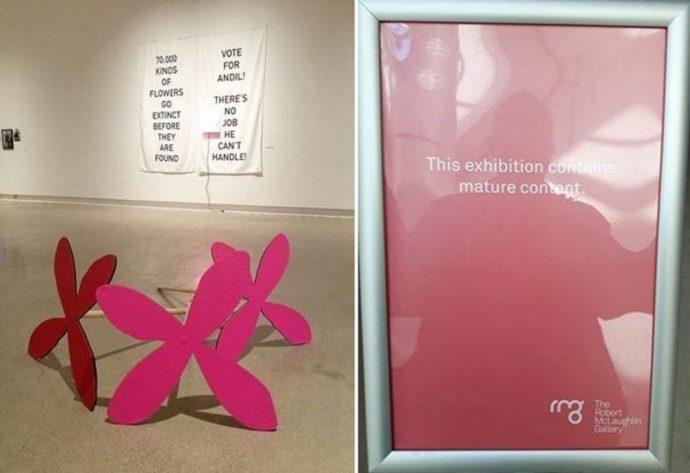 Картинная галерея извинилась за предупреждение «только для взрослых»
