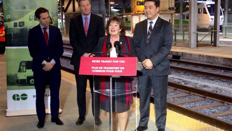 Metrolinx развивает железнодорожную сеть пригородного сообщения GO