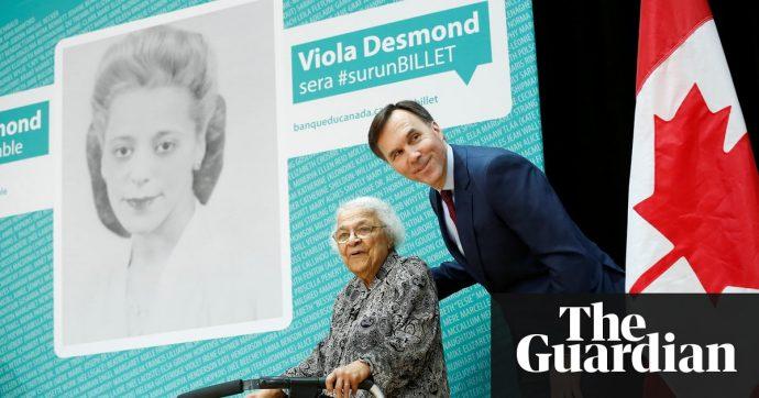 Новая купюра с портретом Виолы Десмонд представлена на церемонии в Галифаксе