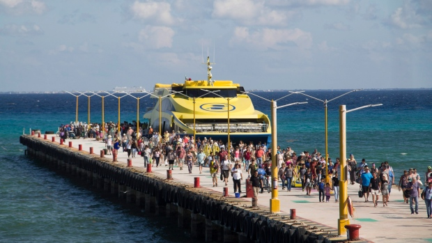 Воздержитесь от морских прогулок на мексиканском курорте Плайя-дель-Кармен