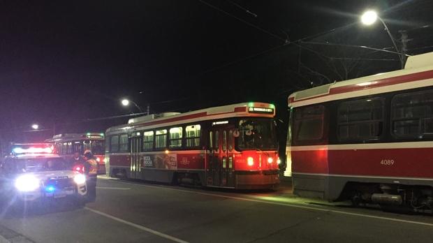 В Торонто столкнулись два трамвая