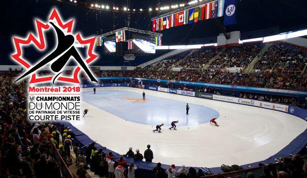 Динамично и захватывающе: чемпионат мира по шорт-треку в Монреале
