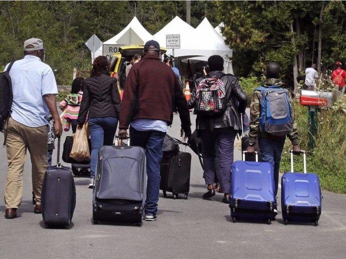 Гаитянская волна беженцев, нигерийская волна. Массовый «приход» в Канаду