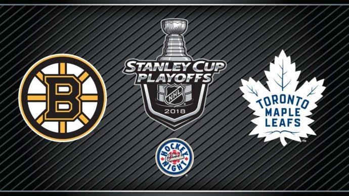 Toronto Maple Leafs выцарапали победу в третьем матче серии