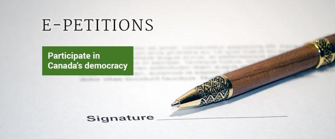 Петиция E-1636: расследовать русскоязычные организации в Канаде