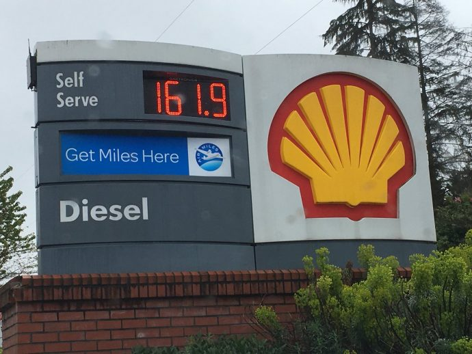 Бензин в Ванкувере: ценовой исторический рекорд