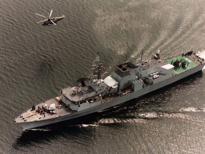 Процесс строительства новых военных кораблей в Канаде затягивается