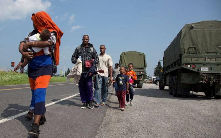 Канада обсуждает «нерегулярную» миграцию...