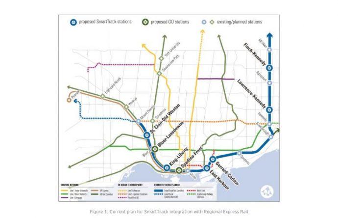 Торонтский исполком утвердил транспортный план SmartTrack
