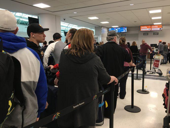 Пассажирский сервис авиакомпании Sunwing подлежит расследованию